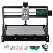 CNC 3018PRO bricolage CNC Kit de routeur 2-en-1 Mini Machine de gravure Laser GRBL contrôle 3 axes pour PCB PVC plastique acrylique bois fraisage