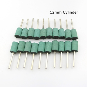 Image 5 - 10 pcs Rubber Mounted Point Grinding Head for Mould Polishing Dremel Rotary Tools