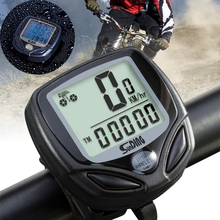 Bicycle Speedometer  LCD computer speedometer Cycling Stopwatch  Riding Accessories Tool Outdoor sports Waterproof Stopwatch D30 стоимость