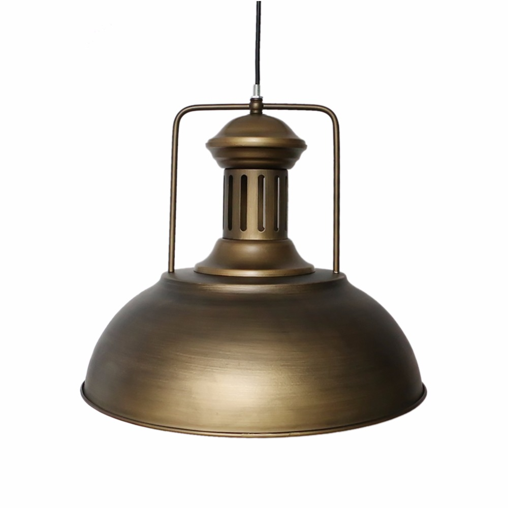 Retro Vintage LOFT bar pendant light creative personality retro American Iron Cafe Restaurant lid Nordic Coffee Shop Luminarias цена и фото