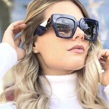 Spring Styles Oversize Ladies Cat Eye Sunglasses Women Brand Designer Trending Female Gradient Sun Glasses UV400 Vintage oculos