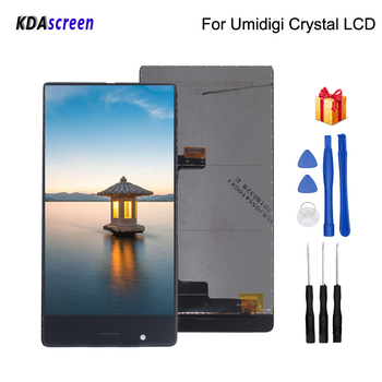 Original For Umidigi umi crystal LCD Display Touch Screen Replacement For Umidigi umi crystal Screen LCD Display Phone Parts factory quality ips lcd display 7 85 for supra m847g internal lcd screen monitor panel 1024x768 replacement