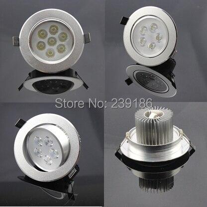 Downlights casa iluminação Power : 1w 3w 5w 7w 9w 12w 15w 18w