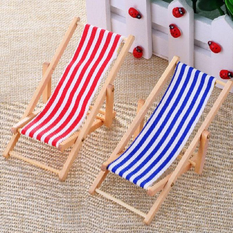 Foldable Wooden Deckchair Lounge