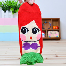 Weirdly Lovely Casual Socks Creative Cute Slippers