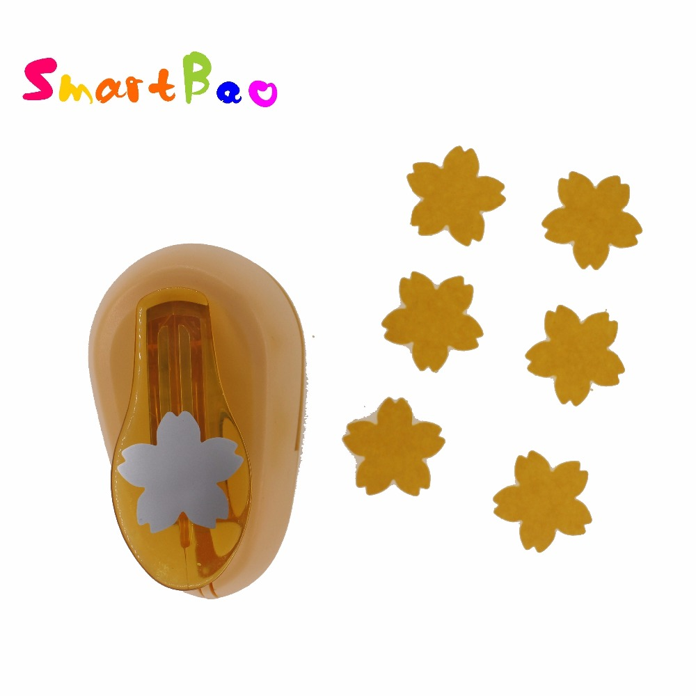Star Flower Punch Scrapbooking Craft Punches For Paper Shape Flower Craft Punch; Flower Width About: 2.5cm/0.98