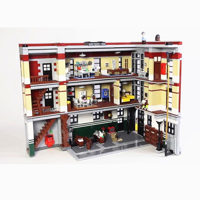 16001 16007 feuerwache Hauptsitz Set Bausteine Kompatibel mit 75827 10228 Halloween Weihnachten Geschenke-in Sperren aus Spielzeug und Hobbys bei  Gruppe 3