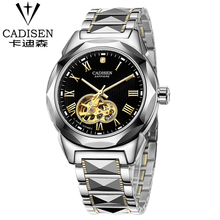 2016 Winner Luxury Brand Sports Men's Automatic Skeleton Mechanical Military Wrist watch Women full Steel Stainless watch
