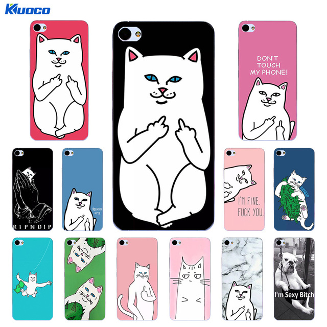 DIY Phone Case for Meizu M1 M2 M6 Note 5.5 Inch Shell for Meizu M3 / M3S Mini Fundas for Meizu U20 Cover TPU Finger Cat Printing