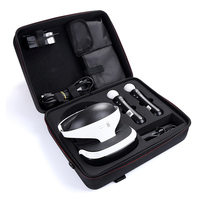 New Portable Hard Waterproof EVA Storage Travel Carrying Box Cover Case for Sony PlayStation VR Launch Bundle & PS4 Slim Console
