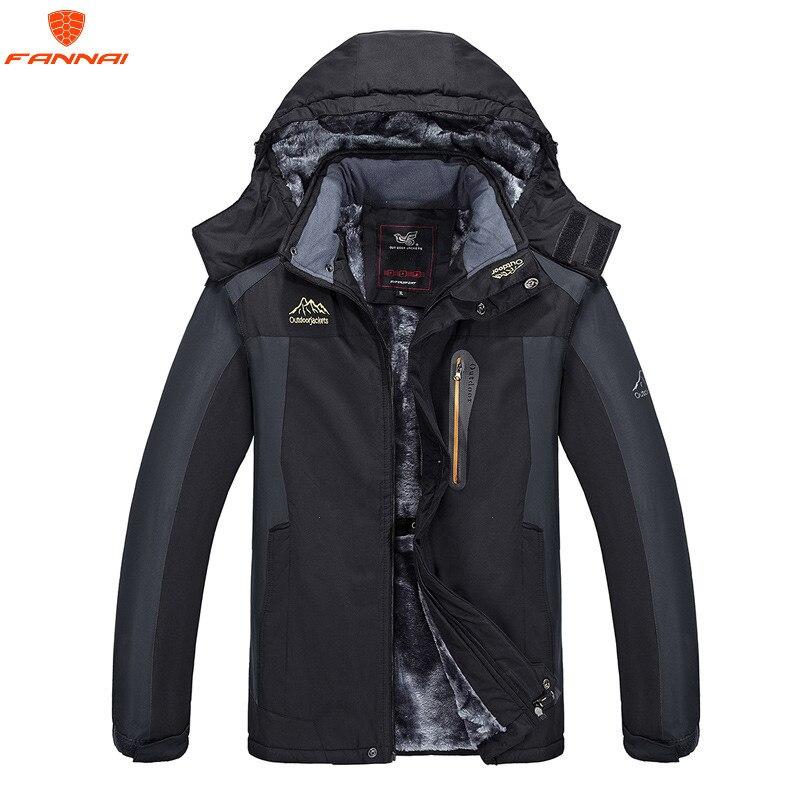 Plus size 6XL outwear winter coat men and womens thicken waterproof fleece warm cotton parkas coat