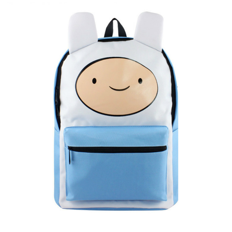 Adventure Time Finn And Jake School Backpack For Teenagers Male/female Travel Bag Pack Laptop Knapsack Bags Sac A Dos цена