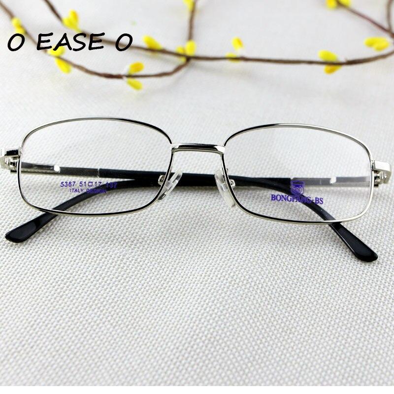 b59716a59 Moda Qualidade Superior De Metal Aro Completo Óculos de Armação Das  Mulheres Dos Homens Unisex Óculos RX Prescrição Miopia Presbiopia 5387