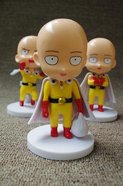 3pcs/set ONE PUNCH MAN Saitama Sensei Japanese Anime Action Figure PVC New Collection figures toys Collection for Christmas gift