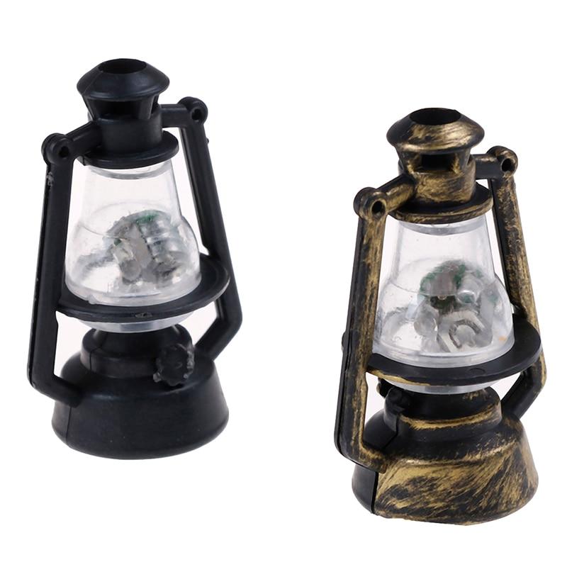 1:12 Retro Oil Lamp Dollhouse Miniature Toy Doll Home Living Room Decor@#