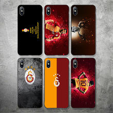 купить Yinuoda Galatasaray Spor Kulubu Phone Case Belhanda For iPhone Case DIY Picture Soft TPU Cover X XR XS MAX 7 8 7plus 6 6S 5S SE по цене 209.07 рублей