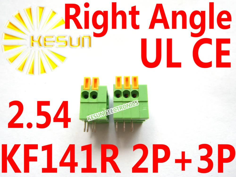 Right Angle Spring : Free shipping pcs kf r pin mm pitch right