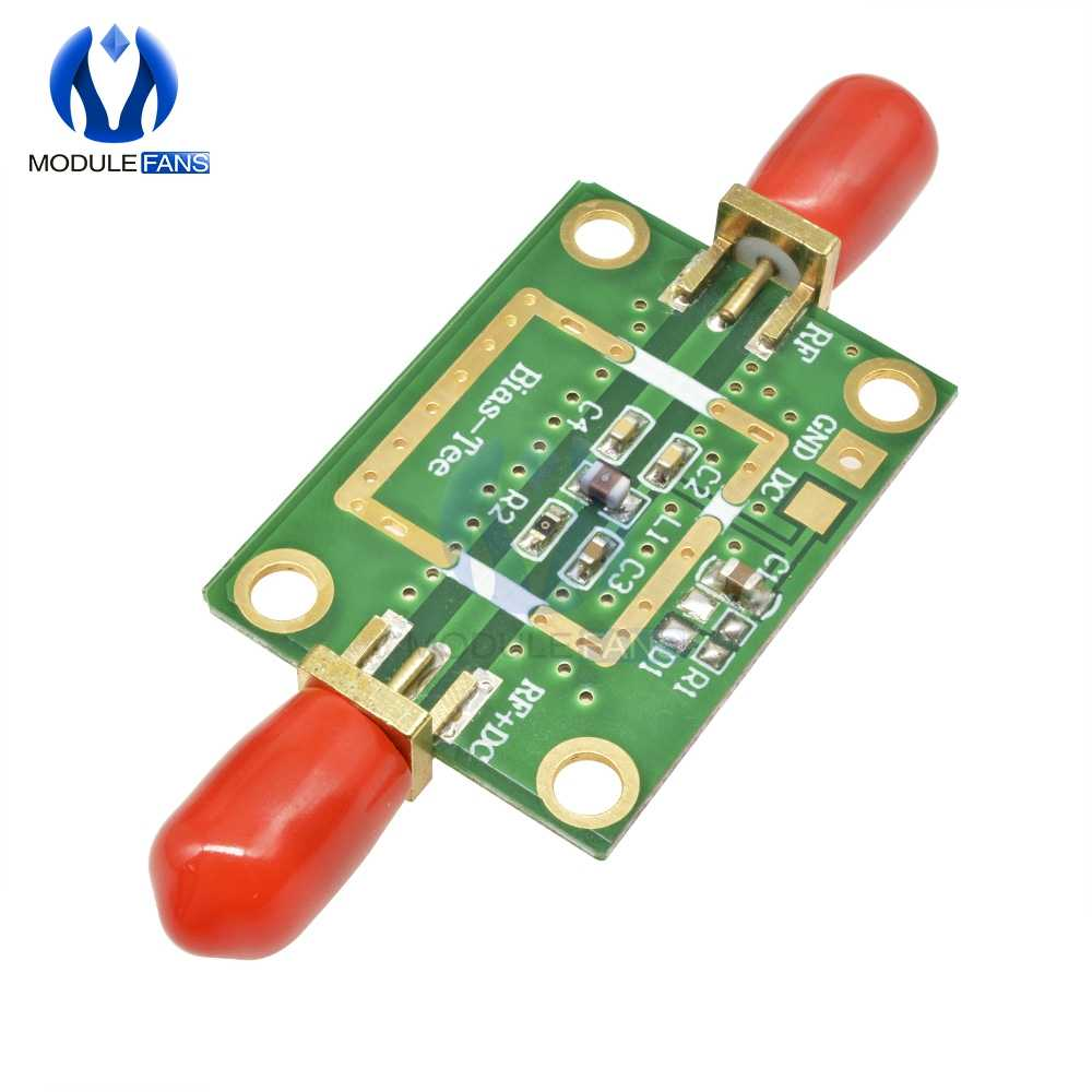 Bias Tee Wide Band Frequency Amplifier Amp Module 10MHz 6GHz
