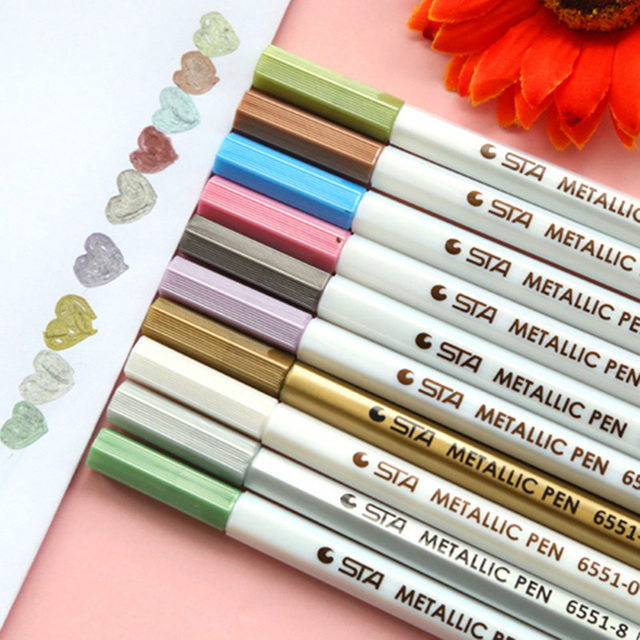 Colorful Wedding Tree Paint Pencils Fingerprint Tree Art Drawing Pencils DIY Craft for Wedding Supplies Marker Pen 6Z