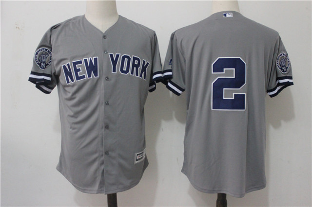 MLB Men s New York Yankees 2   Blank Fan Player Player Jersey ... c38eba62161