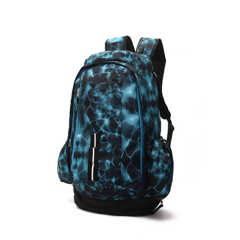AFBAGME New 2019 Basketball Backpacks Sport Backpack Man Backpack Large Capacity Training Women Travel Bags School Bag Shoes Bag in Backpacks from Luggage Bags