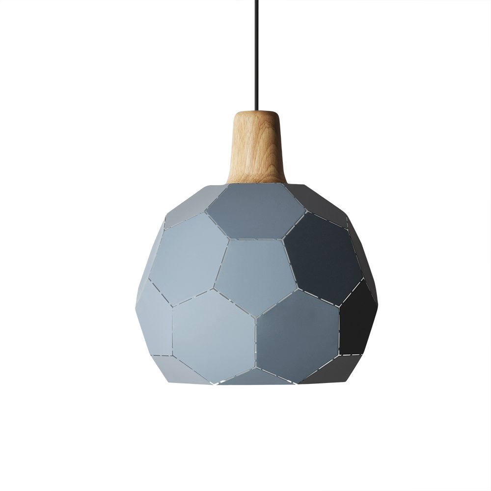 Fashion Simple Ball Shape Lampshade Aluminum Iron Wood Modern Chandelier Decor Pendent Light Blue Pink Living Room Cafe Lamp стоимость