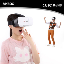 VR Glasses 3.0 Version Virtual Reality Glasses 3D Glasses + Smart Bluetooth Wireless Remote Control For 4.7-6.0 inch Phone