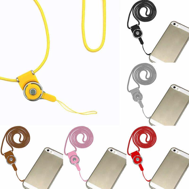 Sel Ponsel Kamera Leher Lanyard Dilepas Multifungsi Tali ID Card Gantungan Kunci Pemegang Diy Ponsel Tali