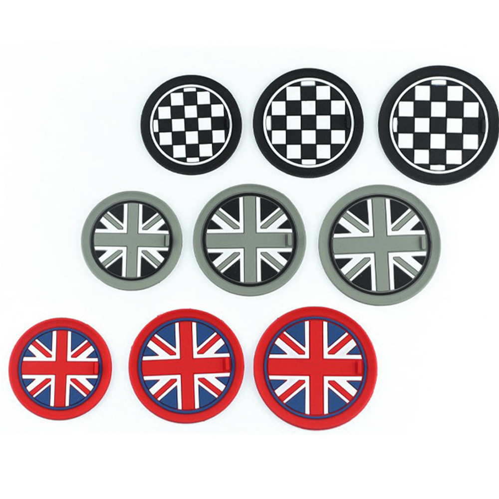 For <font><b>MINI</b></font> COOPER Cup <font><b>Holder</b></font> mats Silicone MATS NON-SLIP mats one Clubman Countryman R55 R56 R57 R60 R61 F55 <font><b>F56</b></font> Accessories image