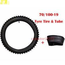 """Tdpro 70/100 19 """"Набор шин для мотоцикла внутренняя трубка"""
