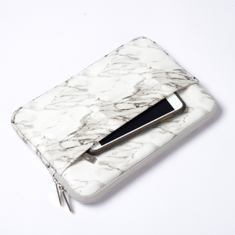 White Marble Cover for iPad 9.7 Pro 11 2018 Case Shockproof Tablet Sleeve Bag for iPad Air 2/1 Pro 10.5 Mini 4 Capa Para+Stylus image