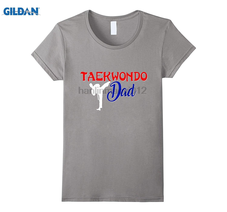 Возьмите тхэквондо папа рубашка таэквондо DoFather сын платье футболка