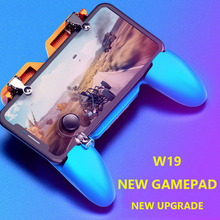Get more info on the W19 PUBG Gamepad Joystick Metalen L1 R1 PUBG Trigger Game Shooter Controller for IPhone Android Gaming Gamepad