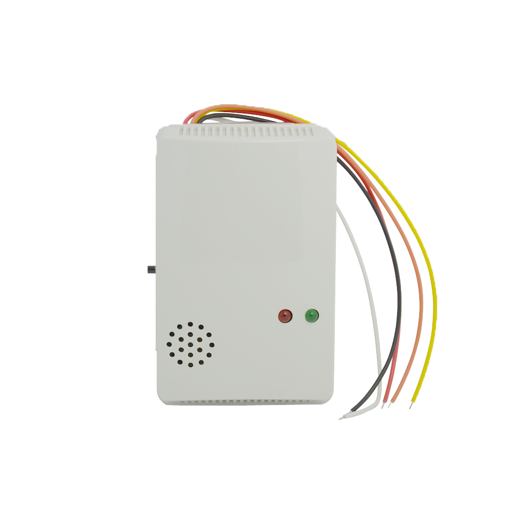10pcs 12VDC Wired Home Security Protection Coal Natural Gas LPG Alarm detector Gas leak sensor switch NC/NO relay output