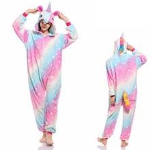 4799efedbb16 Wholesale Animal Stitch Horse Panda Bear Rainbow Pikachu Onesie Adult  Unisex Cosplay Costume Pajamas Sleepwear For Men Women