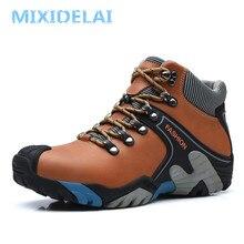 MIXIDELAI Men Boots Size 38-46 Fashion Men Winter Boots Wate