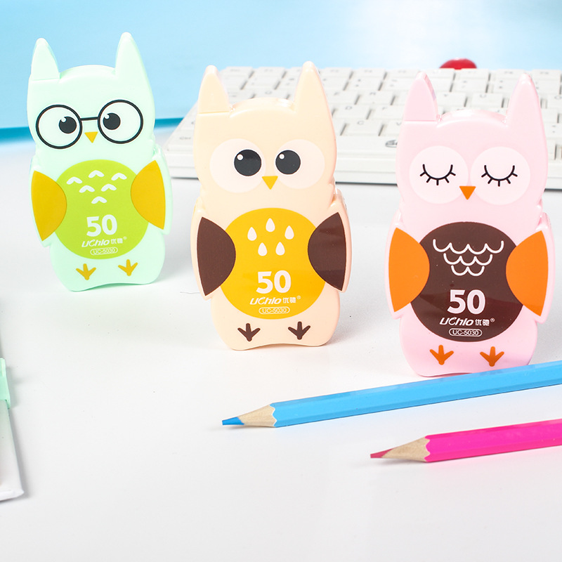 Kawaii Cute Owl Correction Tape School Office Supply Kids Student Stationery Corrective Eraser
