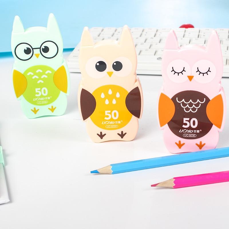 Kawaii Cute Owl Correction Tape School Office Supply Kids Student Stationery Corrective Eraser