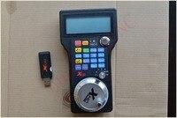 engraving machine remote control handwheel mach3 MPG USB wireless hand wheel for CNC 3 axis 4 axis WHB04 L 1pcs