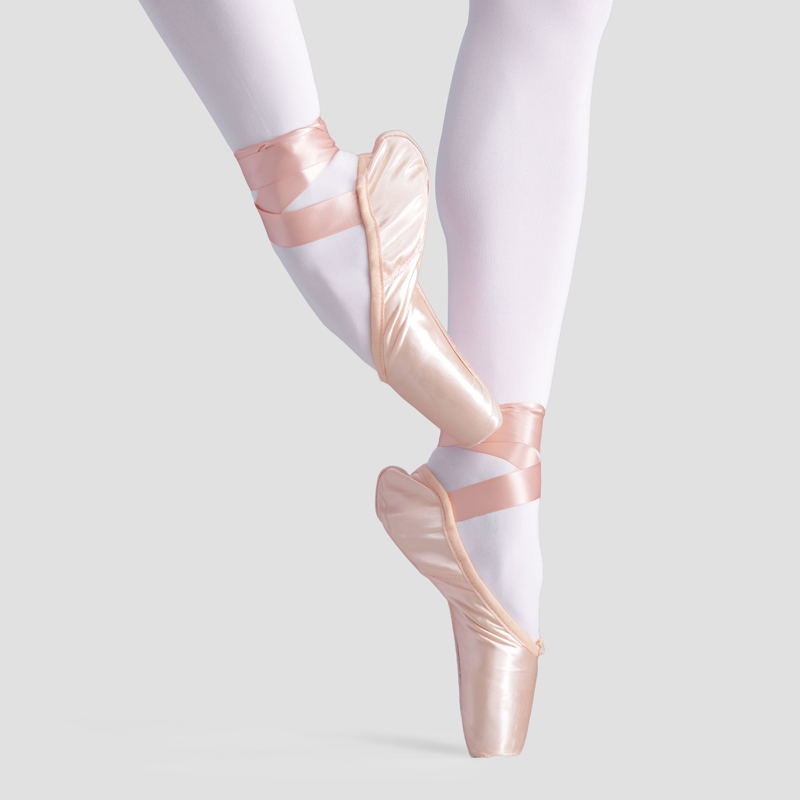 Professional Satin Dance Ballet Pointe Shoes Girls Adult Women Ballet Shoes