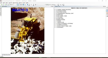 Komatsu Electronic parts catalogue CSS Parts Book Viewer 5.11  2020 (COMPLETE SET FOR ALL MODELS) 6DVDL