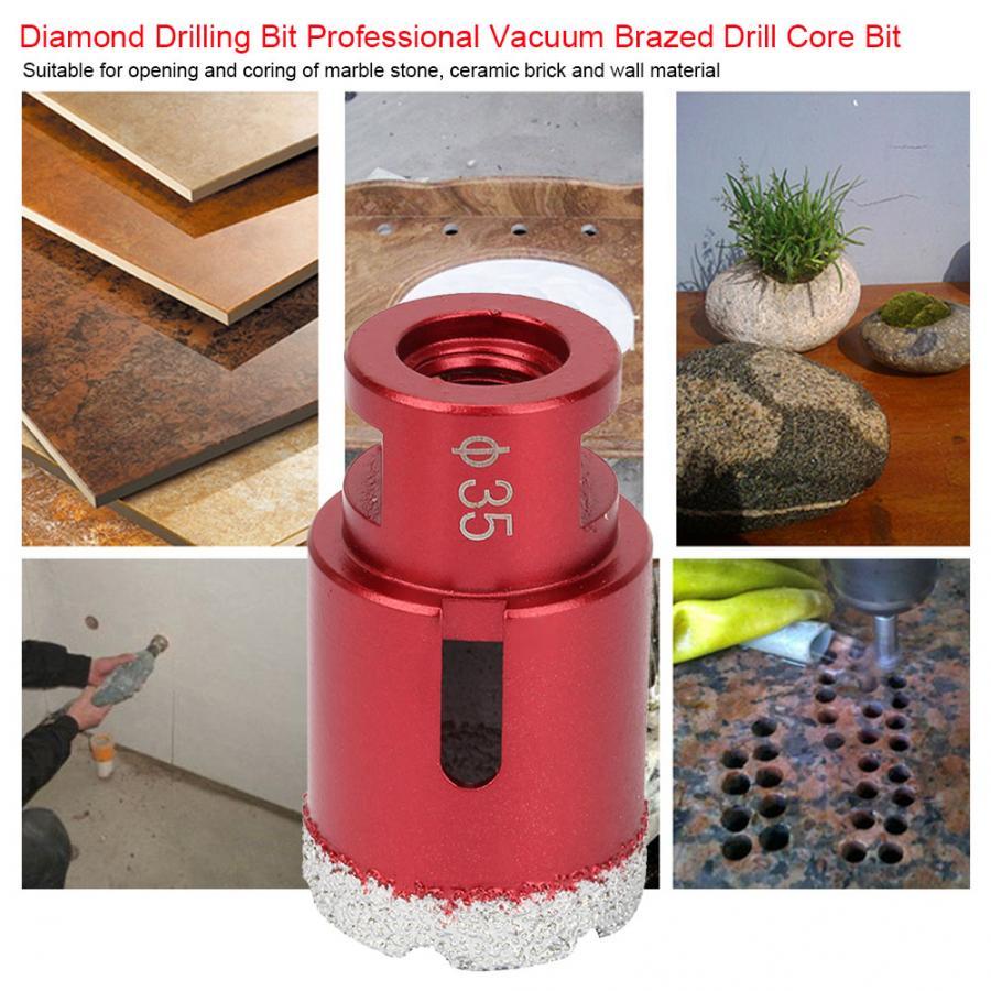 Hole saw Hole Cutter 10mm/35mm M14 | Diamond Drilling Bit | Professional Vacuum Brazed Drill Core Bit Drilling Tool | 1 pcs