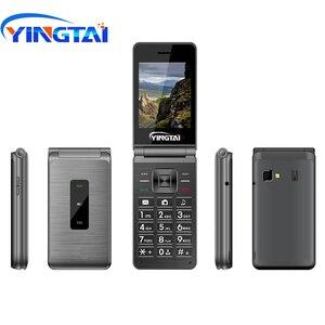 Image 2 - Celular yingai t39l original, telefone gsm, com flip, fm, dual sim, 2.8 polegadas, botão clamshell, desbloqueado, 2g celular móvel