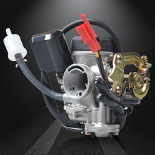 NIBBI Racing Parts 19mm PD19J Replacement Carburetor For 139QMB GY6 Scooter JACKEL 50cc 60cc 80cc 100cc