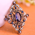 New Arrival Women Vintage Turkish Brooches Bouquet Fashion Buby Red Pin Brooch Hijab Accessories Noble Flower Broaches Broche