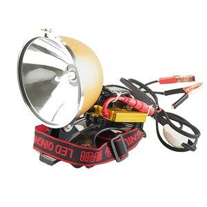 Image 4 - בהיר קמפינג 12V 35W HID פנס 55W דיג מנורת ראש מנורת 75W פנס 100W ציד זרקור ראש אור קסנון פנסים