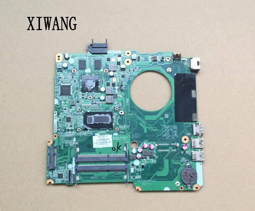 736377-001 736377-501 Free Shipping For HP PAVILION 15-N 15-n005TX Laptop Motherboard DA0U82MB6D0 SR170 I5-4200U 100% Tested