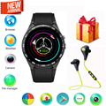 Femperna KW88 Android 5.1 Watch Phone Bluethooth 4.0 MTK6580 Quad Core 1.39GHz GPS 3G WiFi Nano SIM Smartwatch with 2.0MP Camera