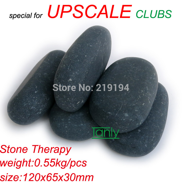 New! No Waxing Finishing Polish 120x60x30mm 96pcs/lot Hot stone body massage tools set Salon SPA