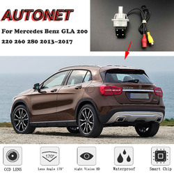 AUTONET Backup widok z tyłu samochodu kamera dla Mercedes Benz GLA 200 220 260 280 2013 2014 2015 2016 2017 widzenie w nocy /licencja kamera na tablicę rejestracyjną